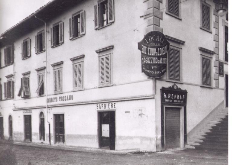 vecchia foto negozio